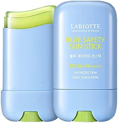 Labiotte Blue Safety Sun Stick SPF 50+ PA++++ 0.88OZ / UV Protection Daily Sunscreen