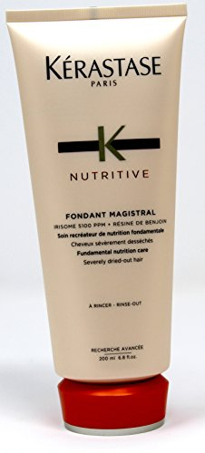 Treatment Rinse Hair (Kerastase Nutritive Fondant Magistral Rinse Out 6.8 oz - For Dry Hair (Irisome 5100 PPM))