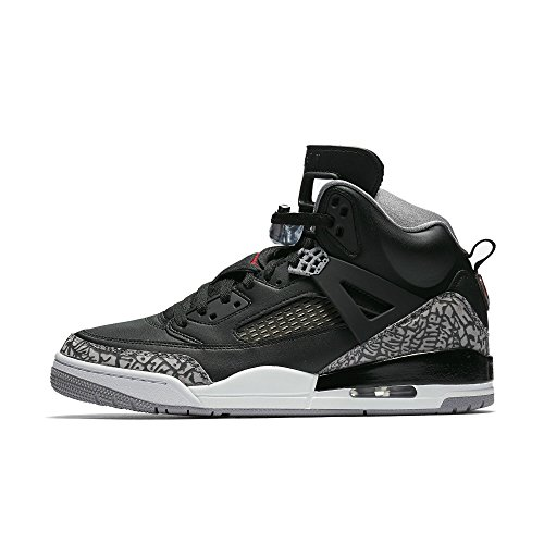 Jordan Spizike Mens Basketball Shoes Black/Grey/Red 315371-034 (12 D(M) US) by Jordan