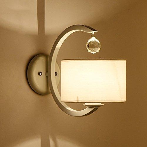 Wandleuchten Crystal Wand Lampe, modernen, minimalistischen Kreative Lampen Schlafzimmer Nachttischlampe Wohnzimmer Treppen Gang LED-Beleuchtung