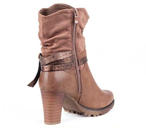 Designer Damen Schuhe Herbst Winter Warm gefütterte Boots