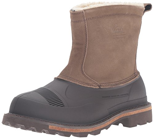 Wooly Snow Mens Suede Woolrich Slip Pan Fully Java Tin Boot EwI6HqO6