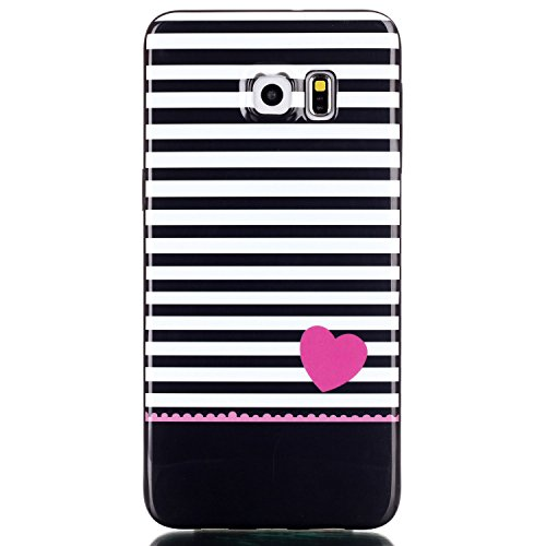 Urberry Galaxy Note 5 Case, [Black Background ] [Slim Fit] -For Samsung Galaxy Note 5 with A Screen Protector