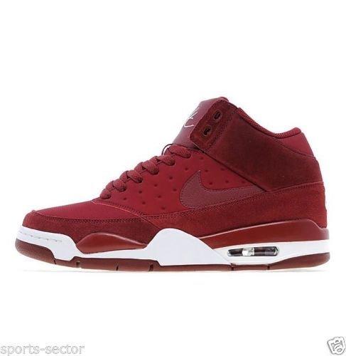 Nike - Hombres - Zapatillas clásicas Modelo Air Flight Rojas - Rojo Equipo, 45: Amazon.es: Zapatos y complementos