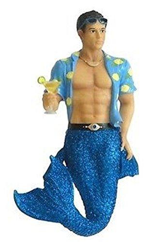 - December Diamonds Merman Mermaid Ornament - Spiked Lemonade - Collectible Gift Box