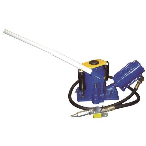 Astro Pneumatic (5304) Low Profile Air/Manual Bottle Jack - 20 Ton Load Capacity