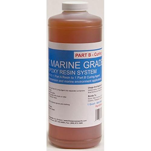 Max Marine Grade Epoxy Resin System 1 2 Gallon Kit Wood Sealing
