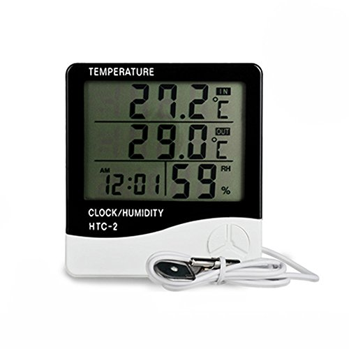 Digital Combination Thermometer/Hygrometer by Aollan