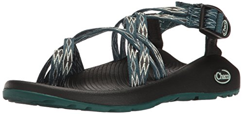 Chaco Women's ZX2 Classic Athletic Sandal, Angular Teal, 7 M US