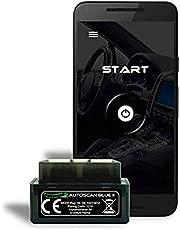 Autogenie © 2020 ECHTZEIT-Daten am ANDROID Handy OBD2 Mini Diagnose-Gerät Torque Auto Car PKW KFZ OBD 2 Bluetooth Fehler-Speicher Lesen und Löschen