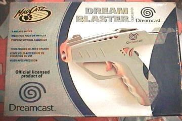 Dreamcast Madcatz Gun Blaster (Best Dreamcast Light Gun)