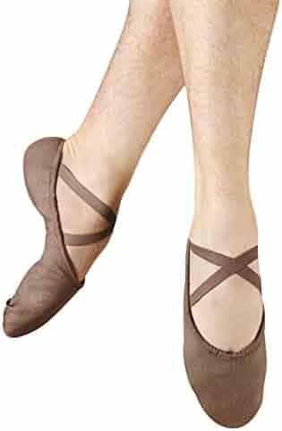 Dance Class Womens B502 Split Sole Leather Ballet Slipper