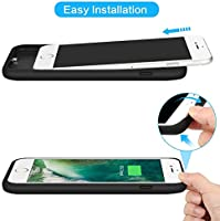 Amazon.com: Battery Case for iPhone 6s/6,6000mAh Portable ...