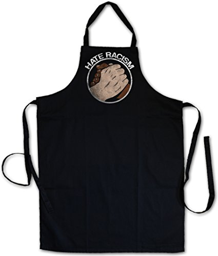 Hate Racism Barbecue BBQ Cooking Kitchen Grilling Apron
