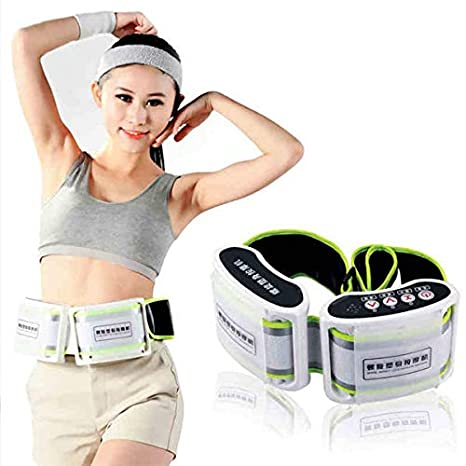 Mark Ample Weight Loss X5 Times Spiral Rejection Of Fat Electric Body Massager Slimming Belt Wrap Thin Waist Vibration Massage