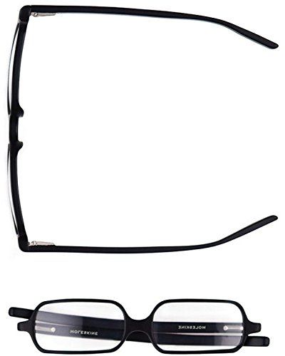19f42177ccdf Moleskine Reading Glasses - Black Diopter +2.5  Moleskine  Amazon.co.uk   Office Products