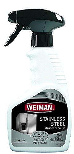 Weiman Stainless Steel Cleaner & Polish, 22 fl oz ( UltraQuality Pack of 3) by Weiman (Image #1)