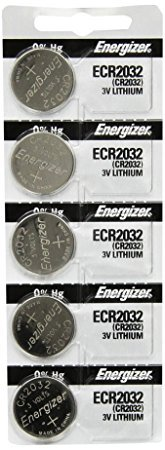 (Energizer CR2016 Lithium Battery 3V, 5 Pack)