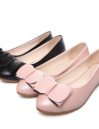 PDX/ Damenschuhe-Ballerinas-Outddor / Lässig-Kunstleder-Flacher Absatz-Komfort-Blau / Rosa / Weiß , pink-us5 / eu35 / uk3 / cn34 , pink-us5 / eu35 / uk3 / cn34