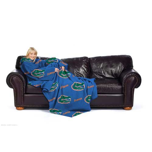 Florida Gators NCAA Adult Comfy Fleece Throw