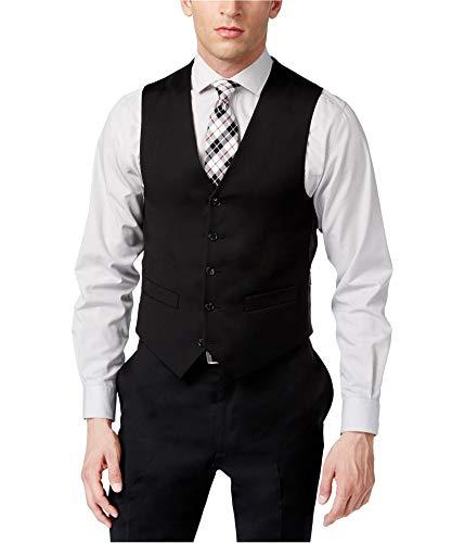 - Tommy Hilfiger Men's Trim Fit Solid Vest,  Black, X-Large