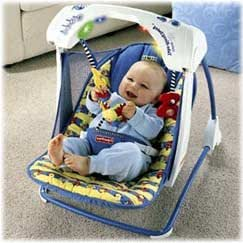 Amazon Com Fisher Price Infant Travel Swing With Lights
