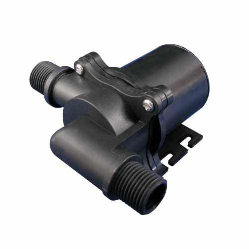(22L/min (350GPH)) High Volume (80'C) DC12V Brushless Water/ oil Pump. Ideal for Solar & Heating System)