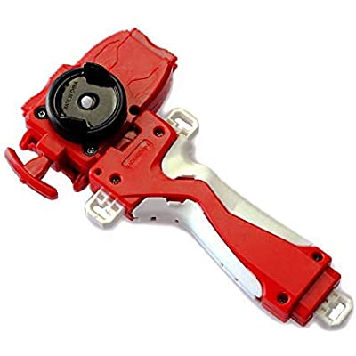 Launcher and Grip, Battling Top Burst Starter String Launcher, Strong Spining Top Toys Accessories(Red): Toys & Games