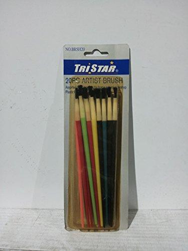Tristar 20pc。アーティストブラシの商品画像