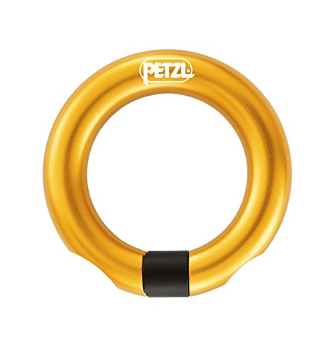 Petzl - Ring Open Multi-Directional Gated Ring for Climbing