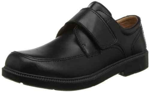 Florsheim Kids Berwyn JR Uniform Oxford Shoe (Toddler/Little Kid/Big Kid),Black,13 W US Little Kid