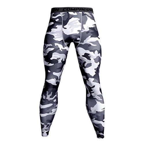 a Escursionismo Dry Sport da Aimee7 Abbigliamento Long jogging sportivo Casual Uomo Pantaloni Quick mercato Allenamento Elastico Fitness White1 Skinny Uomo Leggings Traspirante buon vY8HWTZvw