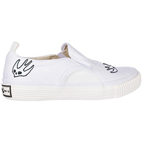 Sneakers Alexander Slip Mokassins McQueen on Weiß Swallow Herren MCQ aqwYI7xdq