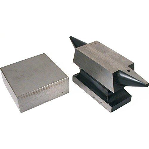 2 Double Horn Anvil Bench Block Jewelers Metal Tools