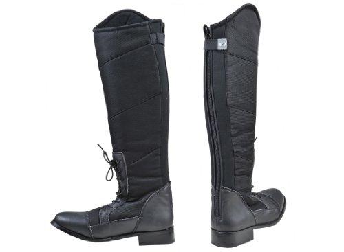 HKM Elegance botas de montar negro Talla:43 - negro