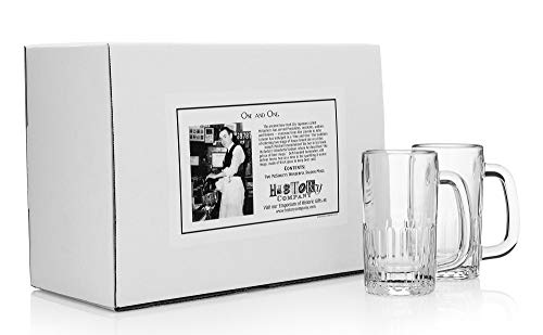 McSorley's Wonderful Saloon Beer Mugs (Gift Box Set of 2) ()