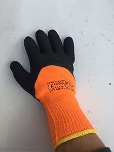 12 x par guantes térmicos de trabajo