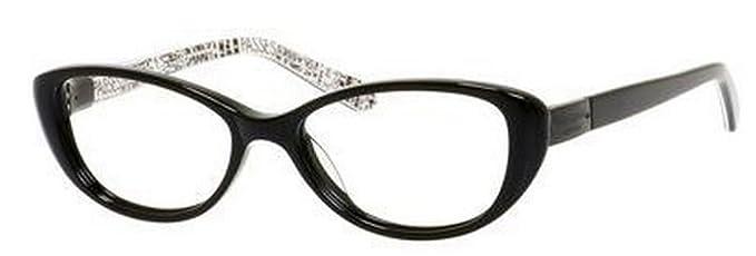 742f1dc35a Amazon.com  Kate Spade Rx Eyeglasses - Finley Black   Frame only ...