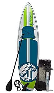 "JimmyStyks Puffer Paddleboard, Blue/Green, 11'4"""