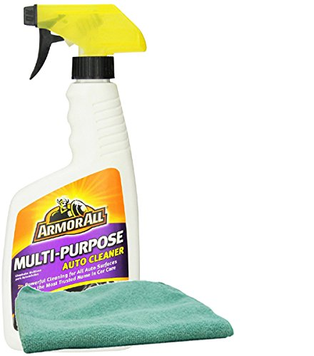Armor All Multi-Purpose Auto Cleaner (16 oz.), Bundles with a Microfiber Cloth (2 Items)
