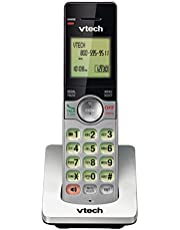 VTech CS6909 Accessory Cordless Handset for VTech 6919-x or 6929-x Series Cordless Phone Systems, Silver/Black