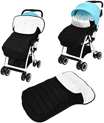 Smibie - Saco de dormir para bebé de invierno para bebé, impermeable, con forro polar, ultraligero y cálido