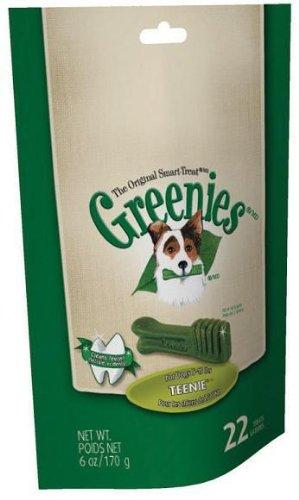 "C D Ford and Sons Inc 21188 ""Greenies"" Teenie Dog Dental Treat 6 Oz 22/PK, My Pet Supplies"