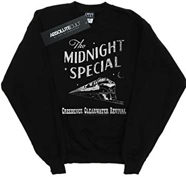 Absolute Cult Creedence Clearwater Revival Damen Midnight Special Sweatshirt Schwarz Small