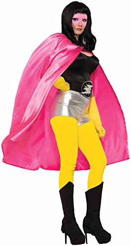 [Adult Super Hero Costume Cape Men Women Halloween Villain Magician Phantom] (Female Superheroes And Villains)