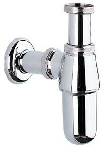 Buy Grohe Metal Bottle Trap (Chrome) Online at Low Prices in India ...