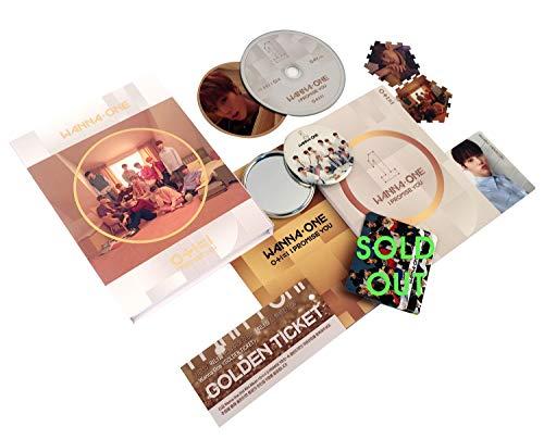 WANNA ONE 2nd Mini Album - I Promise You [ DAY Ver. ] CD + Photobook + Tazo + Photocard + Mirror Card + FREE GIFT / K-Pop