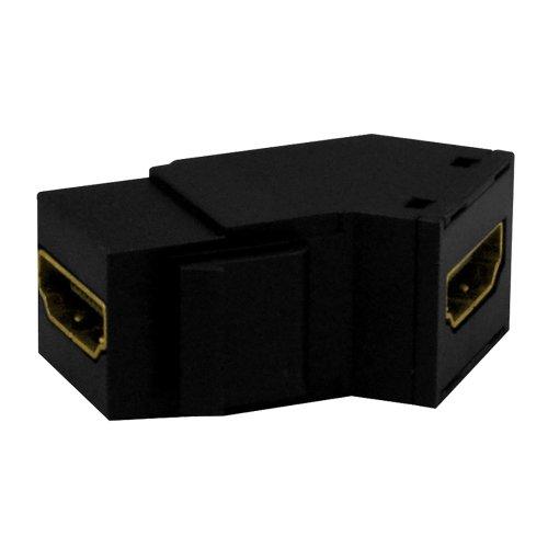 Legrand - On-Q WP1234BK High Definition Multimedia Interface Keystone Insert, Black