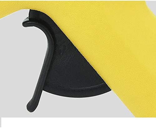 Minmin 10本のスティックのりとDIY手芸装飾、ホームクイック修復に適した透明な箱、木工、ホリデーデコレーション黄色のホットメルト接着ガン、40W温度銃、 ミニ (Color : A)
