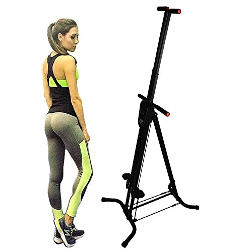 XR Vertical Climber with Resistance Cords Cardio Stepper Exercise Workout Machine by XR Fitness